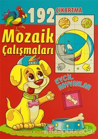 Mozaik Çalışmaları 192 Çıkartma -  Evcil Hayvanlar