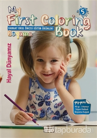 My First Coloring Book (5 Kitap Takım)