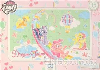 My Little Pony Frame Puzzle - Pembe (35 Parça)