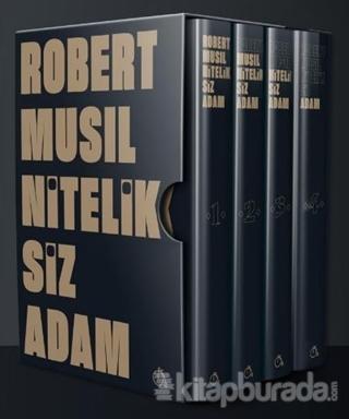 Niteliksiz Adam (4 Kitap Takım)