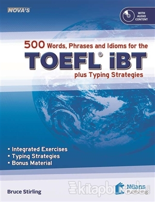 Nova's 500 Words, Phrases and Idioms for the TOEFL iBT+CD