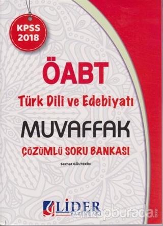 ÖABT Türk Dili ve Edebiyatı Muvaffak Çözümlü Soru Bankası