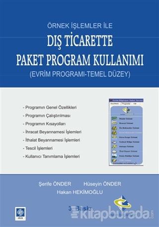 Örnek İşlemler ile Dış Ticarette Paket Program Kullanımı