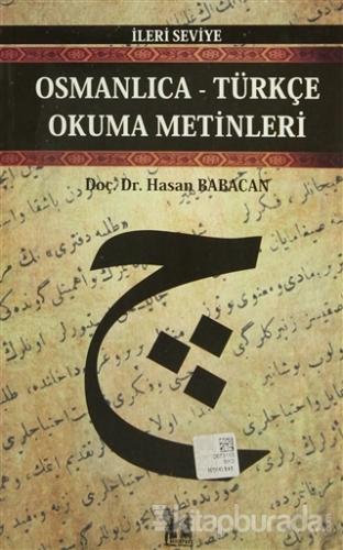 Osmanlıca-Türkçe Okuma Metinleri - İleri Seviye-9
