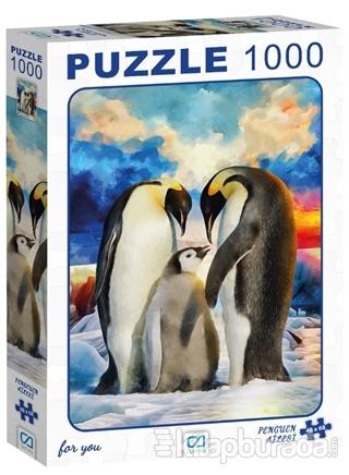 Penguen Ailesi - 1000 Parça Puzzle