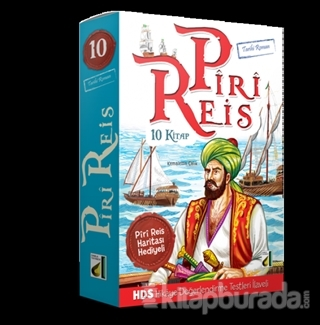 Piri Reis'in Serüvenleri (10 Kitap Takım)