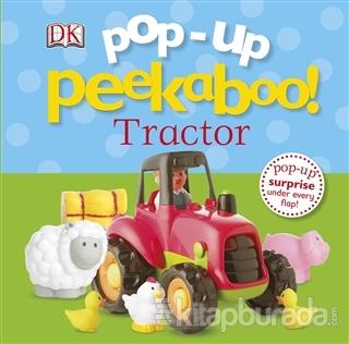 Pop-Up Peekaboo Tractor (Ciltli)