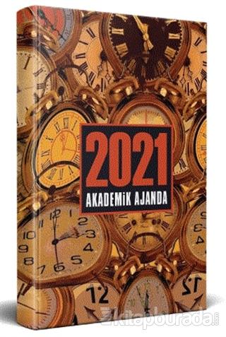Saat Desenli - 2021 Akademik Ajanda