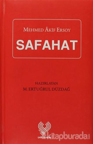 Safahat  (Kırmızı) (Ciltli)