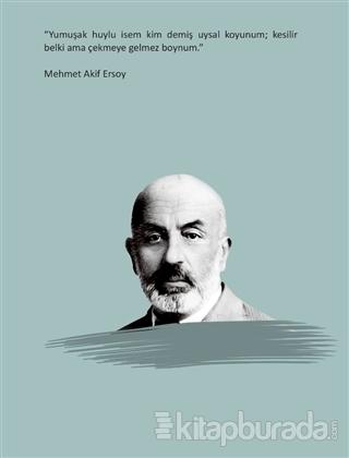 Salon Mehmet Akif Ersoy - Ciltli Defter