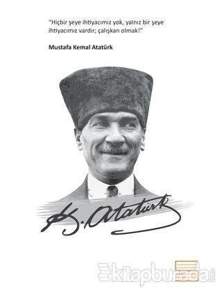 Salon Mustafa Kemal Atatürk - Ciltli Defter