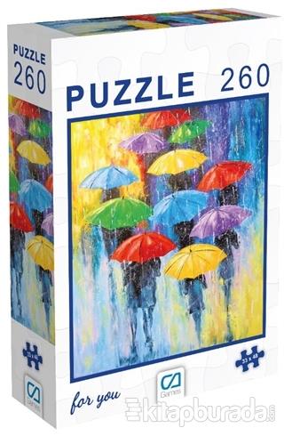 Şemsiyeler - 260 Parça Puzzle