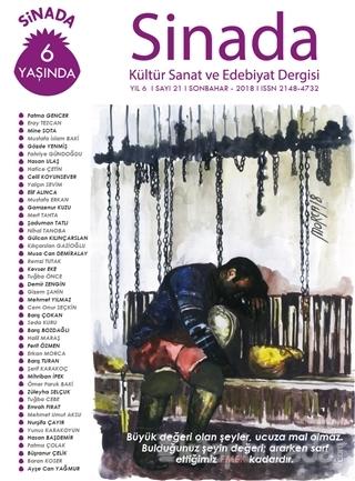 Sinada Dergisi Yıl 6 Sayı: 21 Sonbahar 2018 İbrahim Öz