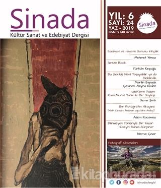 Sinada Dergisi Yıl 6 Sayı: 24 Yaz 2019
