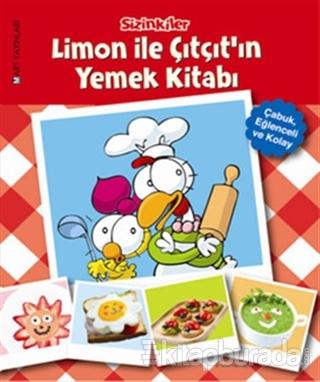 Sizinkiler - Limon ile Çıtçıt'ın Yemek Kitabı (Ciltli)