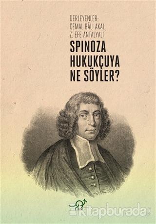 Spinoza Hukukçuya Ne Söyler?