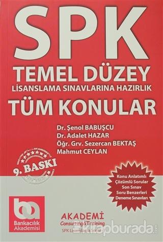 SPK Temel Düzey (Tüm Konular) Lisanslama Sınavlarına Hazırlık