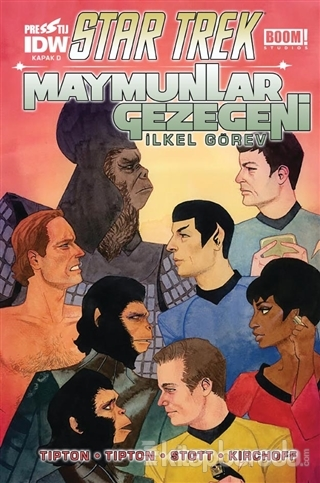 Star Trek Maymunlar Gezegeni - Kapak D