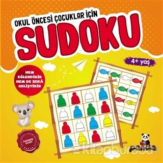 Sudoku 4+ Yaş - Okul Öncesi Çocuklar İçin Kolektif