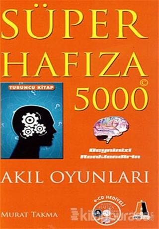 Süper Hafıza 5000 Turuncu Kitap
