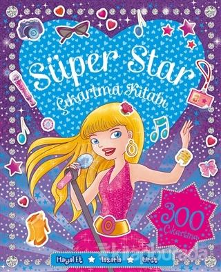 Süper Star Çıkartma Kitabı