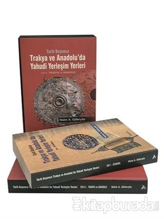Tarih Boyunca Trakya ve Anadolu'da Yahudi Yerleşim Yerleri (2 Kitap Takım)