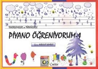 Tekerlemeler ve Türkülerle Piyano Öğreniyorum - 1