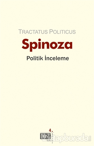 Tractatus Politicus %15 indirimli Benedictus de Spinoza