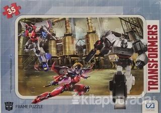 Transformers -  Frame Puzzle 35 (Asorti 12'li Paket) İadesizdir