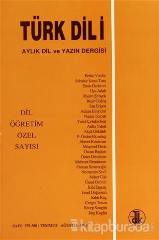 Türk Dili Sayı 379-380: Dil Öğretim Özel Sayısı