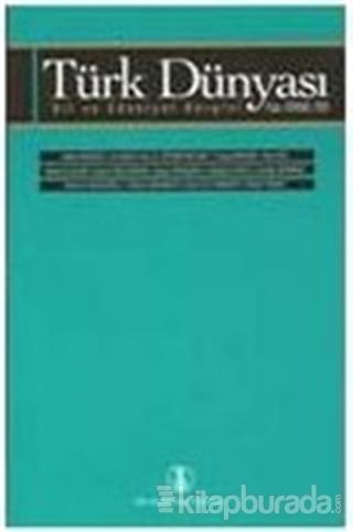 Türk Dünyası Dil ve Edebiyat Dergisi Sayı: 20