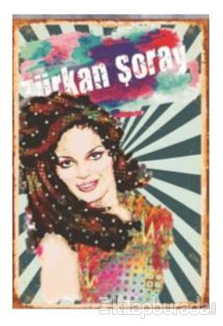 Türkan Şoray Ahşap Poster 11