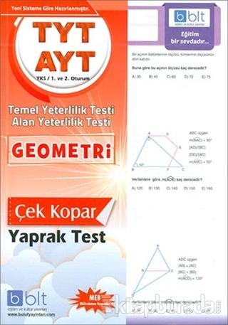 TYT AYT Geometri Yaprak Test