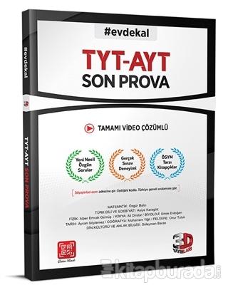 TYT - AYT Son Prova Denemesi Kolektif