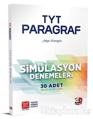 TYT Paragraf 10'lu Simülasyon Denemeleri Kolektif