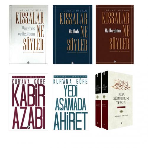 Mehmet Okuyan Külliyatı  6  Kitap Tüm Kitapları Özel Seti