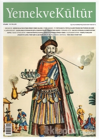 Yemek ve Kültür Üç Aylık Dergi Sayı: 58 Kış 2020
