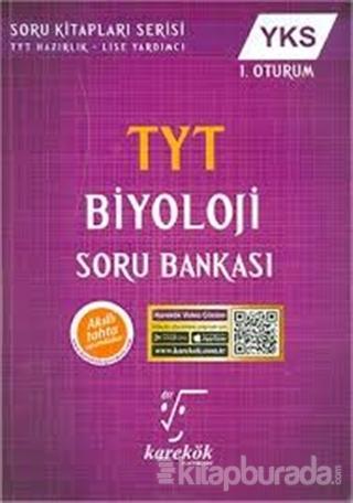 YKS TYT Biyoloji Soru Bankası 1. Oturum