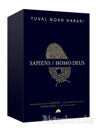 Yuval Noah Harari: Sapiens - Homo Deus (2 Kitap Takım) (Ciltli)