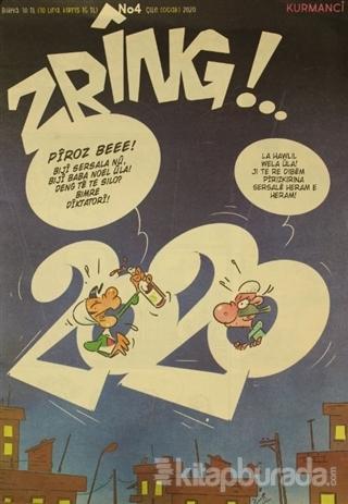 Zring Aylık Kürtçe Dergi Sayı: 4 Ocak 2020