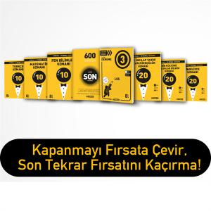 Hız Yayınları 8.SINIF SON UZMAN DENEME PAKETİ