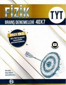 Bilgi Sarmal Yayınları TYT Fizik 40 x 7 Branş Denemeleri 2021