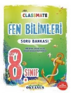 Okyanus Yayınları 8. Sınıf Classmate Fen Bilimleri Soru Bankası