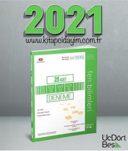TYT 25'li Fen Bilimleri Deneme ÜçDörtBeş Yayınları