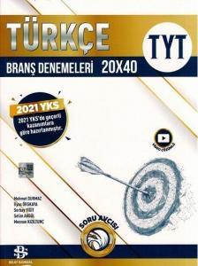 Bilgi Sarmal Yayınları TYT Türkçe 20 x 40 Branş Denemeleri 2021
