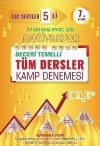 Omage Yayınları 7. Sınıf Motivasyon Tüm Dersler Kamp 5 Deneme