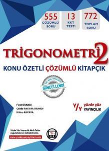 Yüzde Yüz Yayınları Trigonometri 2 Konu Özetli Çözümlü Fasikül