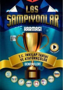 Son Viraj Yayınları 8. Sınıf LGS T. C. İnkılap Tarihi ve Atatürkçülük Şampiyonlar Karması Denemeleri