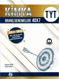 Bilgi Sarmal Yayınları TYT Kimya 40 x 7 Branş Denemeleri 2021