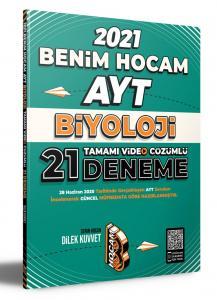 Benim Hocam Yayınları 2021 AYT Biyoloji Tamamı Video Çözümlü 21 Deneme Sınavı Benim Hocam